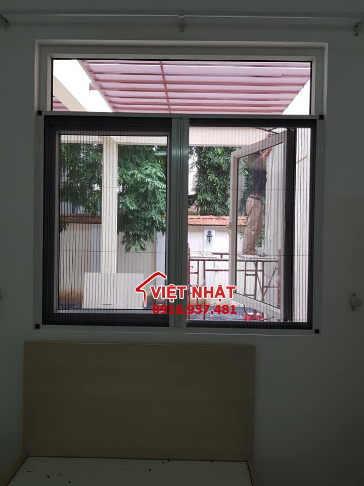 Thi công cửa lưới chống muỗi tại nhà anh Hải quận bình tân