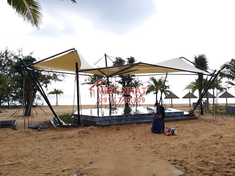 Công trình bạt kéo căng - Movenpick Phú Quốc